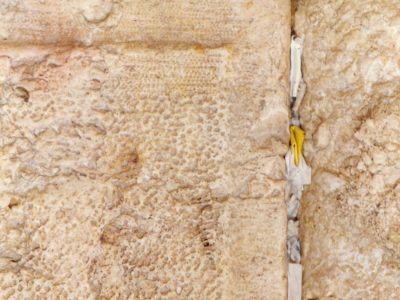 Wishes at the Western Wall