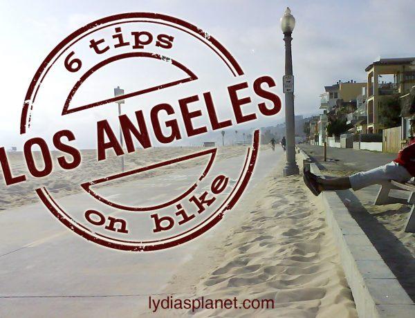 Los Angeles on bike