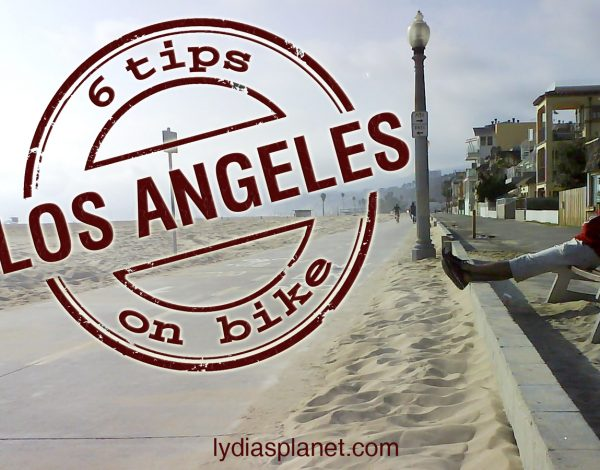 Los Angeles on bike